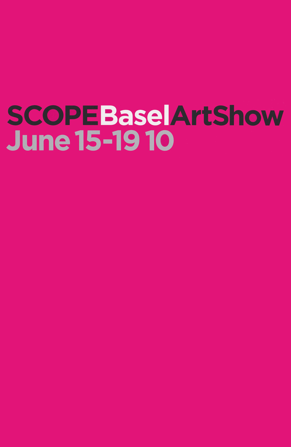 Scope Art Basel
