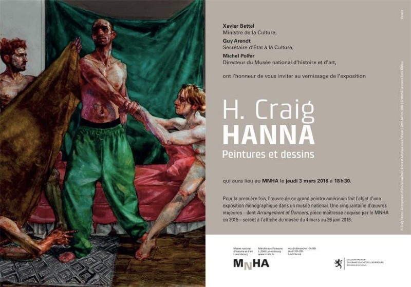 H Craig HANNA L'invitation 2019