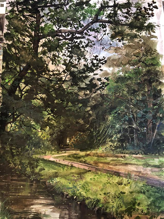 H Craig HANNA Chemin Et Ruisseau 2019