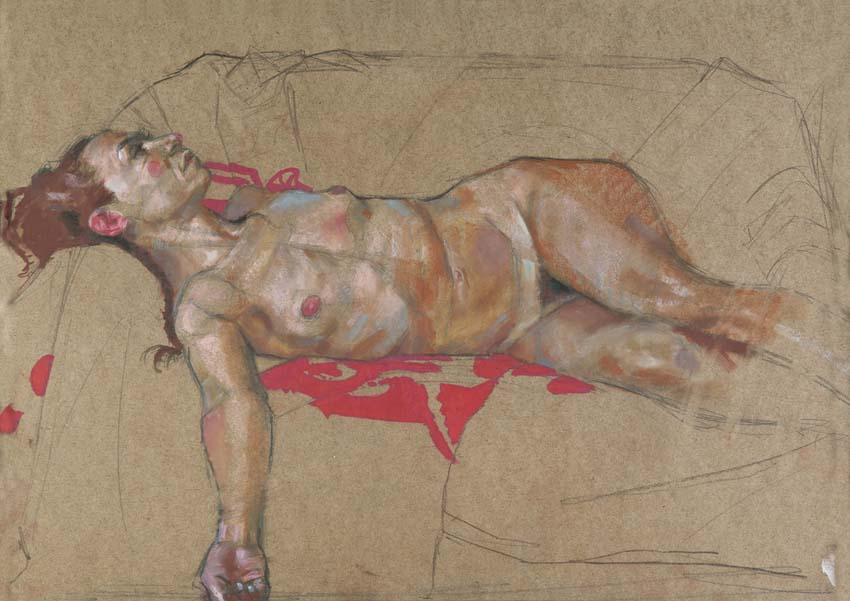 H Craig Hanna Anne Reclining 2010