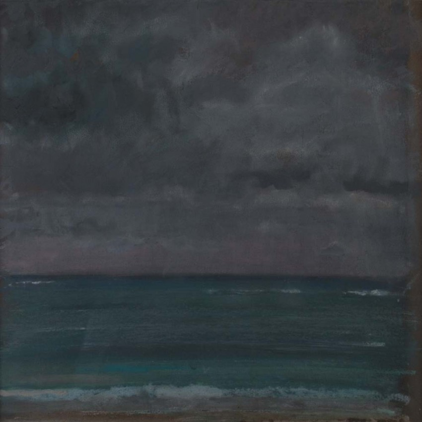 H Craig HANNA Vue de mer orageuse 2011