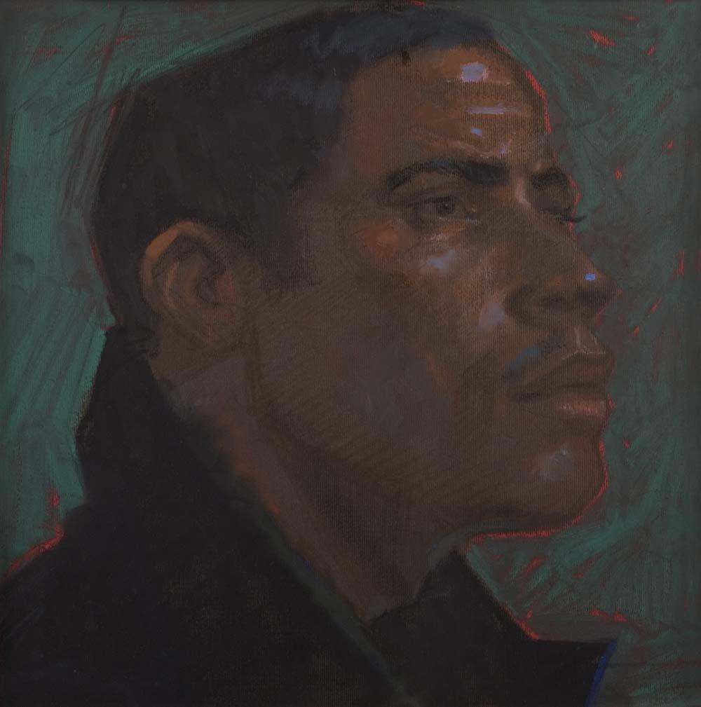 H Craig Hanna Profil à la veste marron 2010