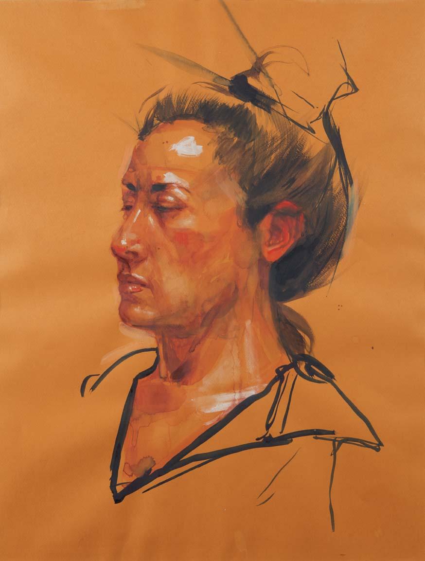 H Craig Hanna Femme à la marinière 2011