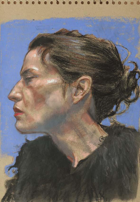 H Craig HANNA Portrait de Laurence 2012
