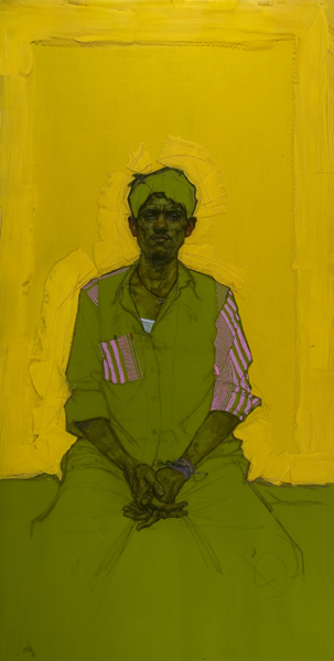 H Craig HANNA Man with Crossed Fingers 2009