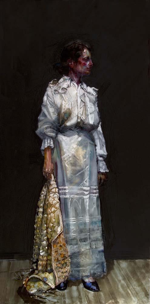 H Craig Hanna Ruthy in White Dress 2010