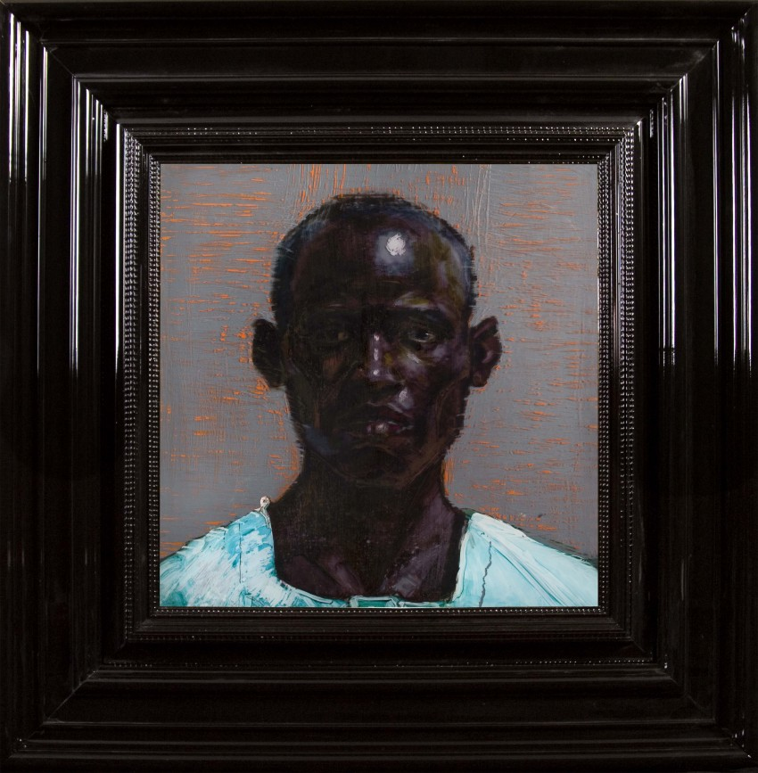H Craig HANNA Man with Turquoise Shirt 2010