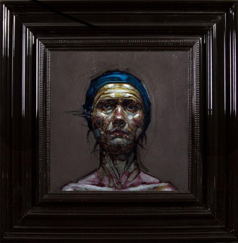 H Craig HANNA Bonnet de Bain Bleu 2012