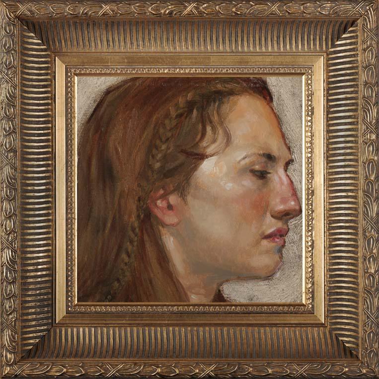 Femme à la Tresse 2012