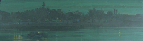 H Craig HANNA Dock de Londres Vert 2007
