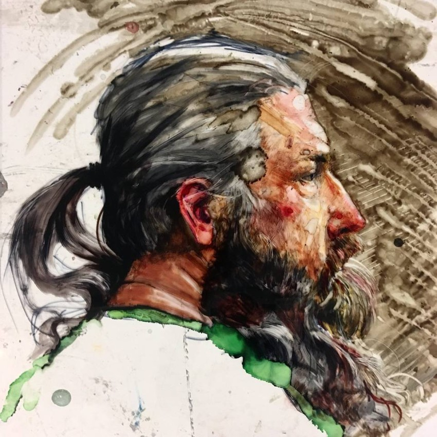 H Craig HANNA Man with long beard 2018