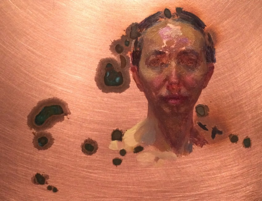 Kate Lehman Selfportrait Small Copper 2016