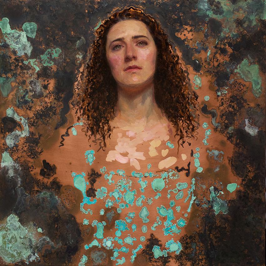 Kate Lehman Portrait of Eloisie Eonnet as Seawife 2015