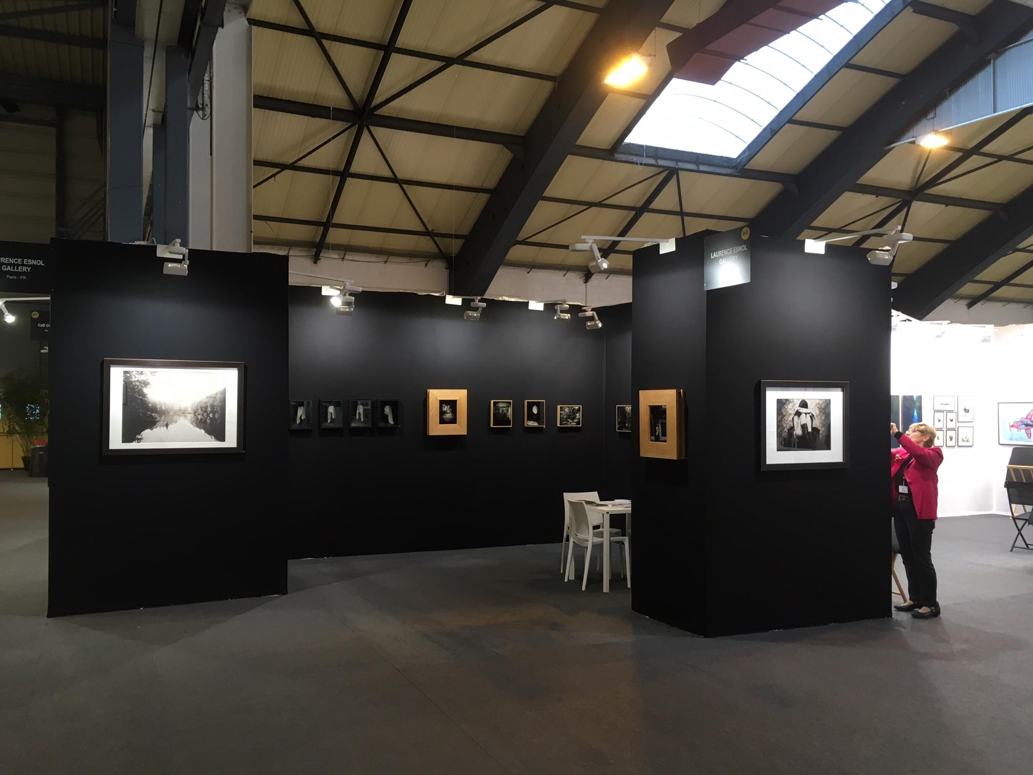 Stand D13 - St'Art 2016 - Laurence Esnol Gallery avec le photographe Eric Antoine 2020