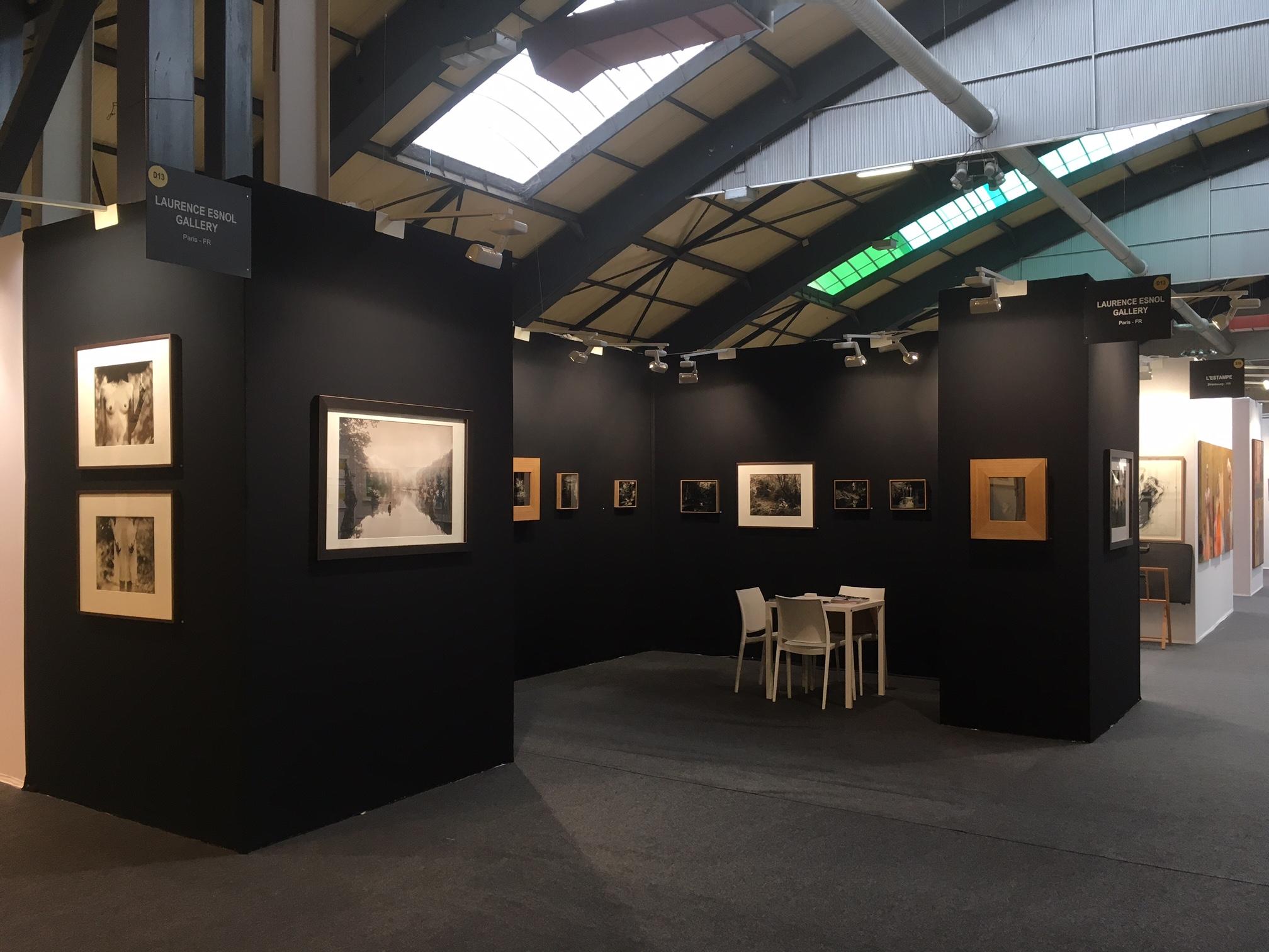 Éric Antoine Stand D13 - St'Art 2016 - Laurence Esnol Gallery avec le photographe Eric Antoine 2019