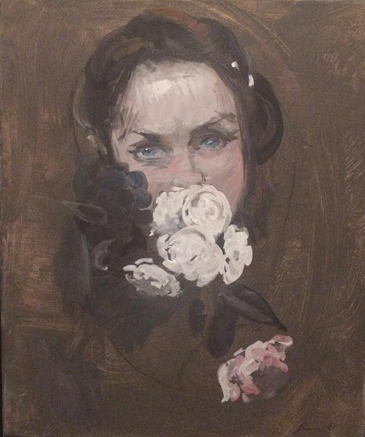 Dongni Hou Laurence aux Fleurs 2016