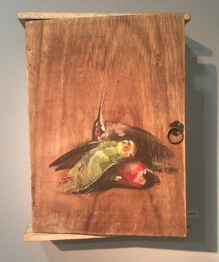 Dongni Hou Oiseaux Endormis 2016