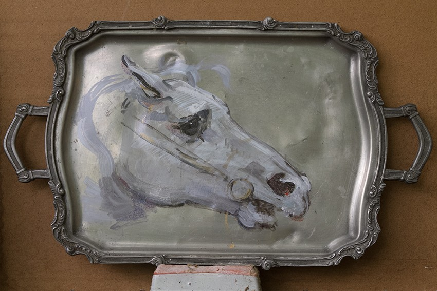 Dongni Hou Tête d'un cheval 2017