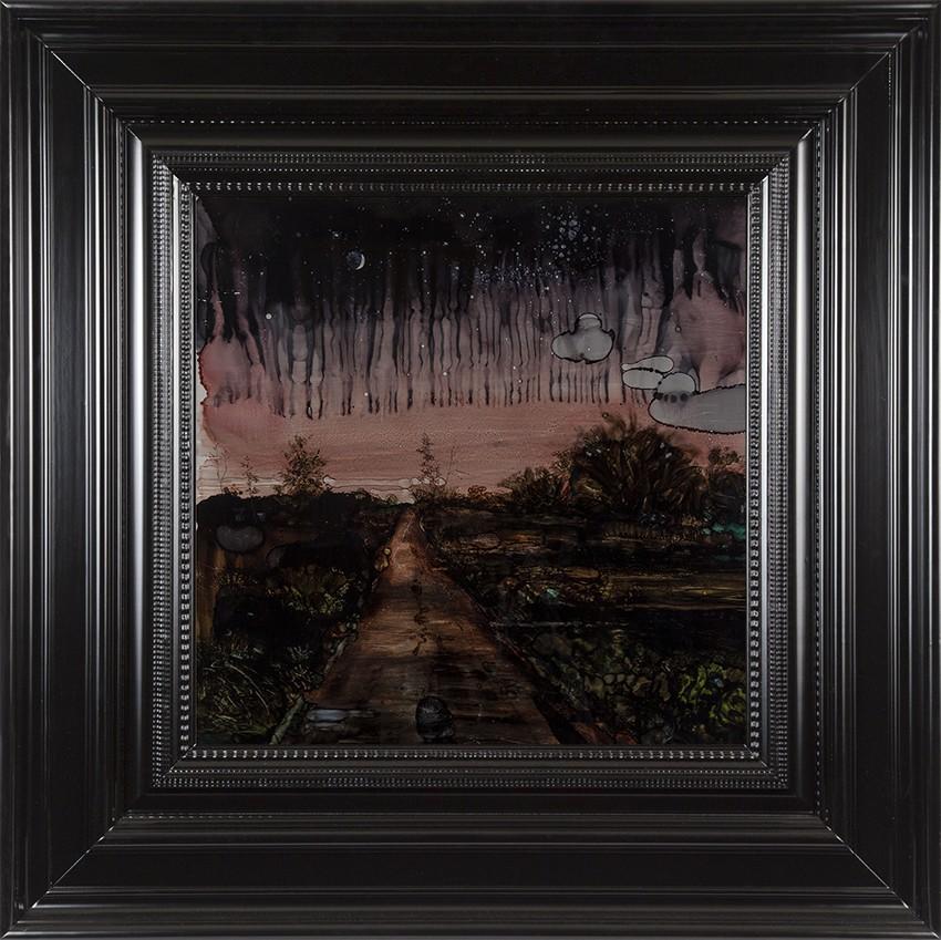 H Craig HANNA Purple Landscape 2017