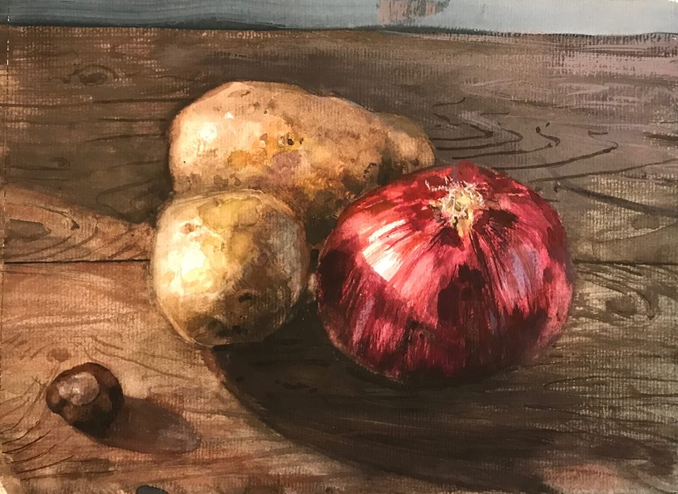H Craig HANNA Nature morte à la chatainge 2017