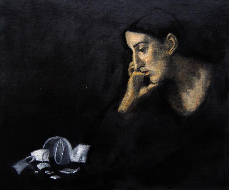 Adrien Eyraud Méditation VI 2018