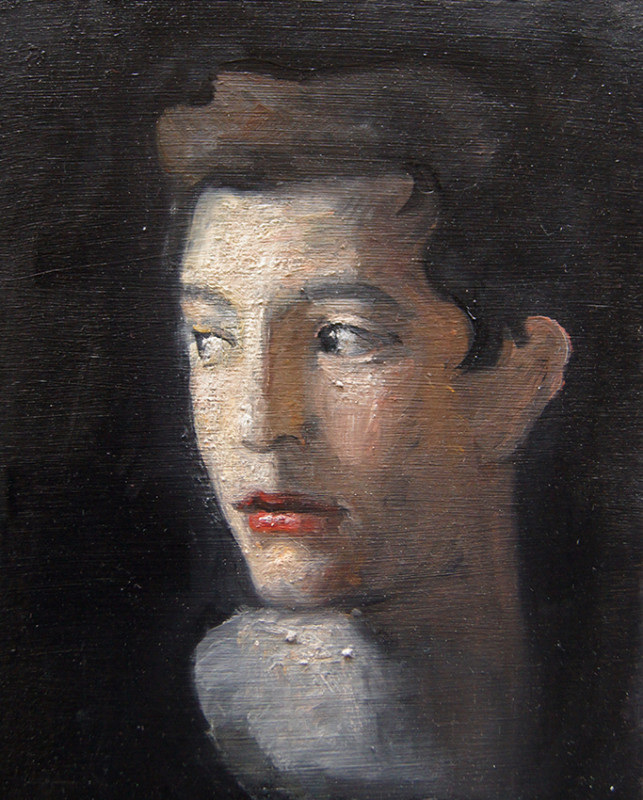 Adrien Eyraud Portrait d'adolescent 2018