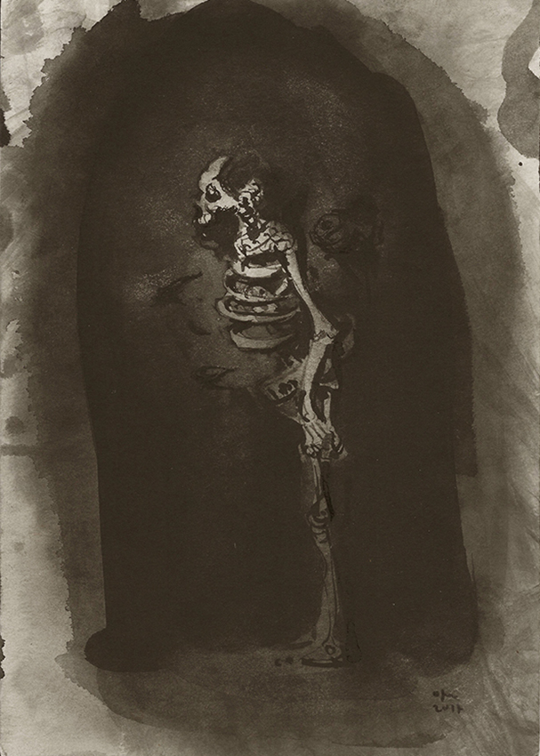 Ofer Josef Squelette 3 2017
