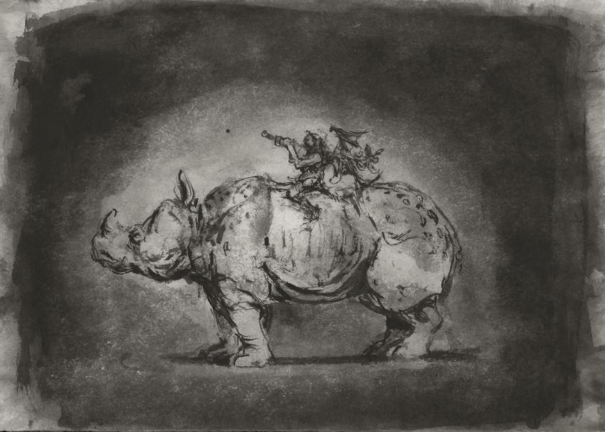 Ofer Josef Rhinoceros 2019