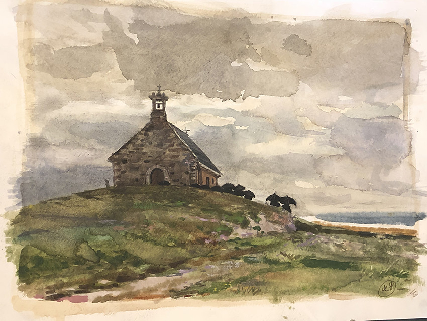 H Craig HANNA Eglise en Bretagne 2019