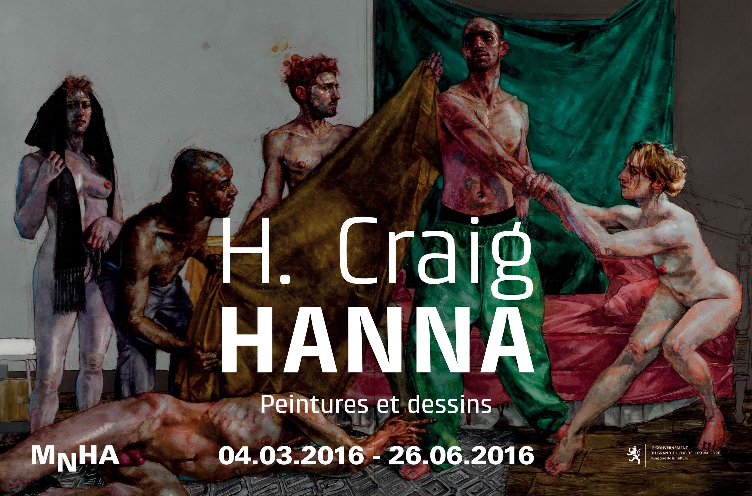H Craig HANNAMusée national d'histoire et d'art, Luxembourg