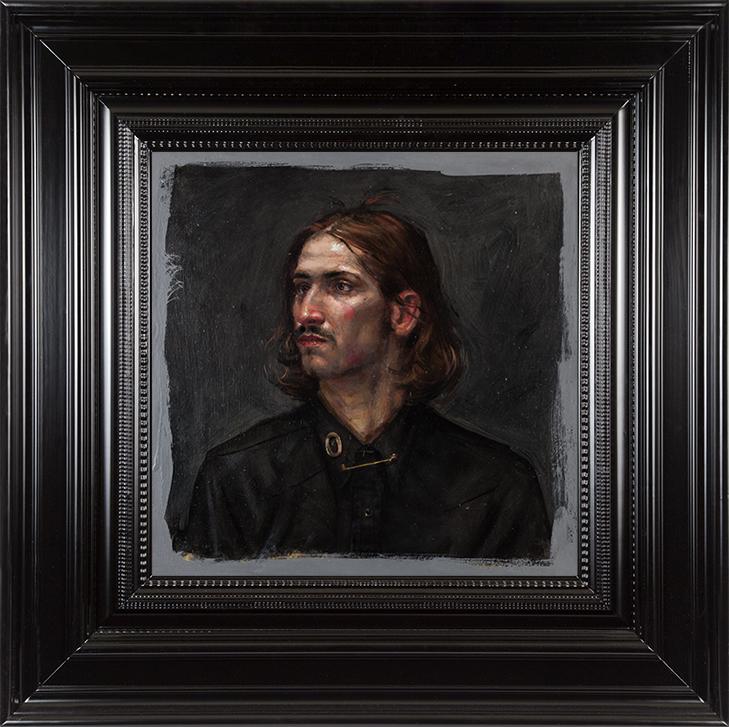 H Craig HANNA Portrait de Shep 2016