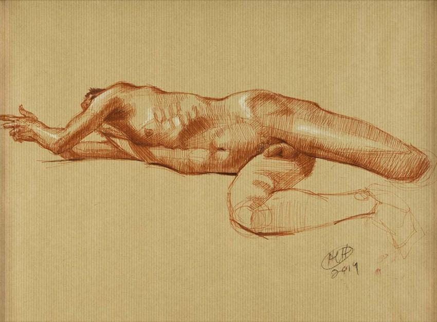 H Craig HANNA Study the Dancers 2014