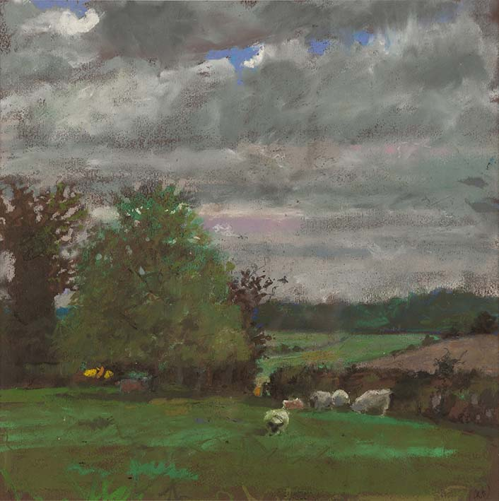 H Craig HANNA Sheeps and Trees 2014