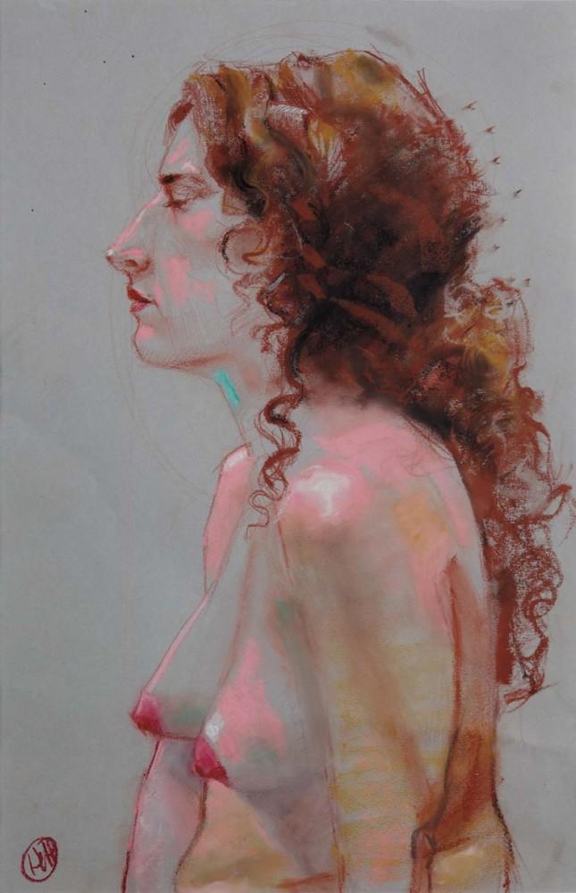 H Craig HANNA Profil à la chevelure rousse 2011