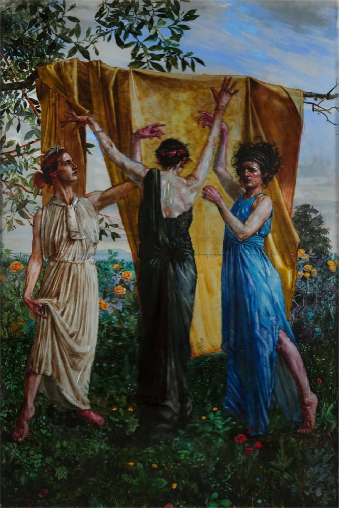 H Craig HANNA The Three Graces 2014