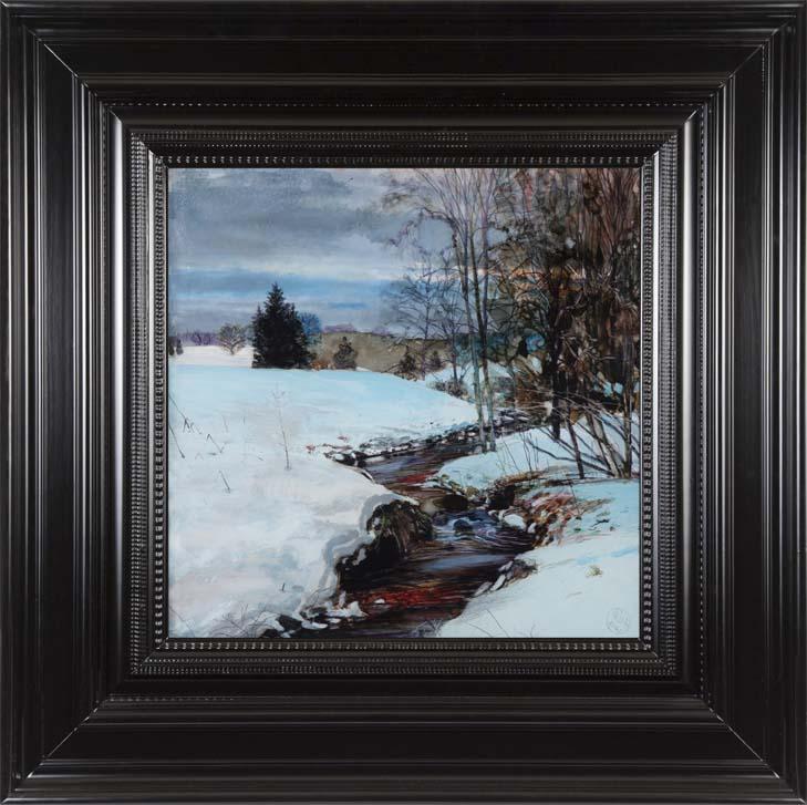 H Craig HANNA Snow Landscape Vosges 2014