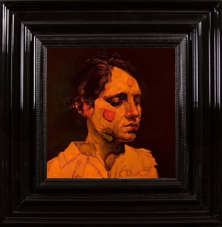 H Craig HANNA Portrait de Ruthy in Orange 2010