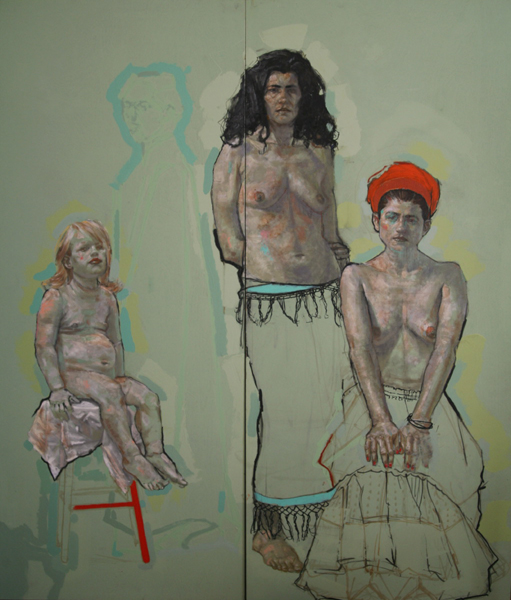 H Craig HANNA Three Graces 2008