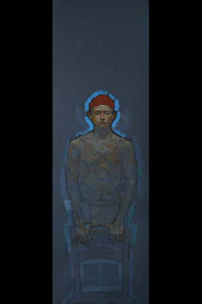 H Craig HANNA Young Boy with Red Hat 2010