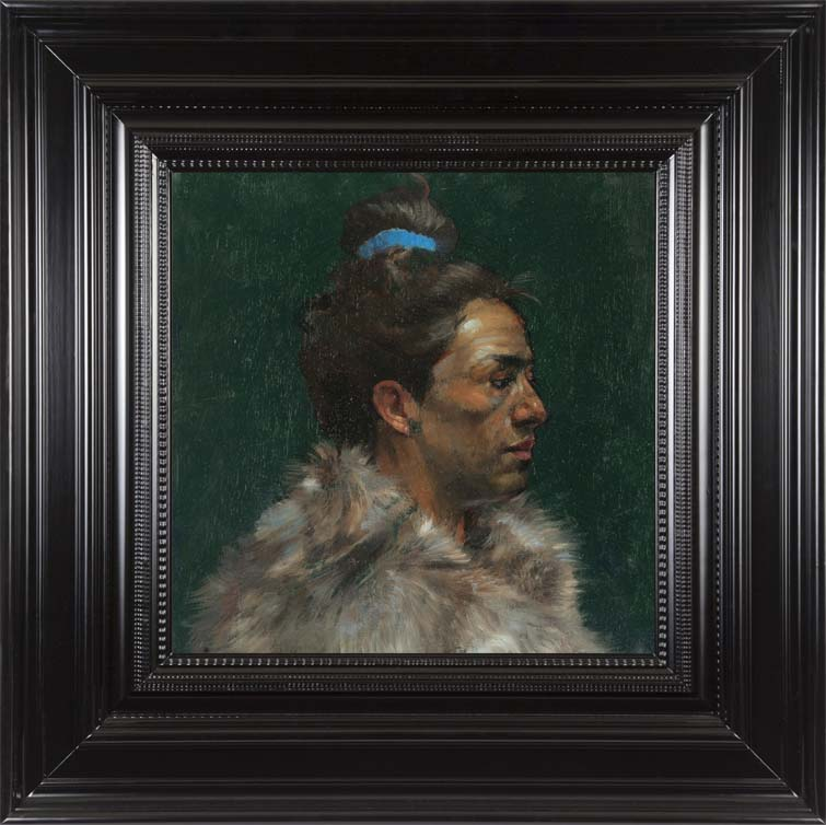 H Craig HANNA Woman with Fur 2012