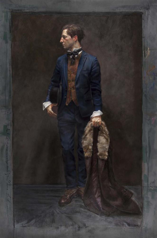 Portrait of Simon in a Vintage Suit 2013