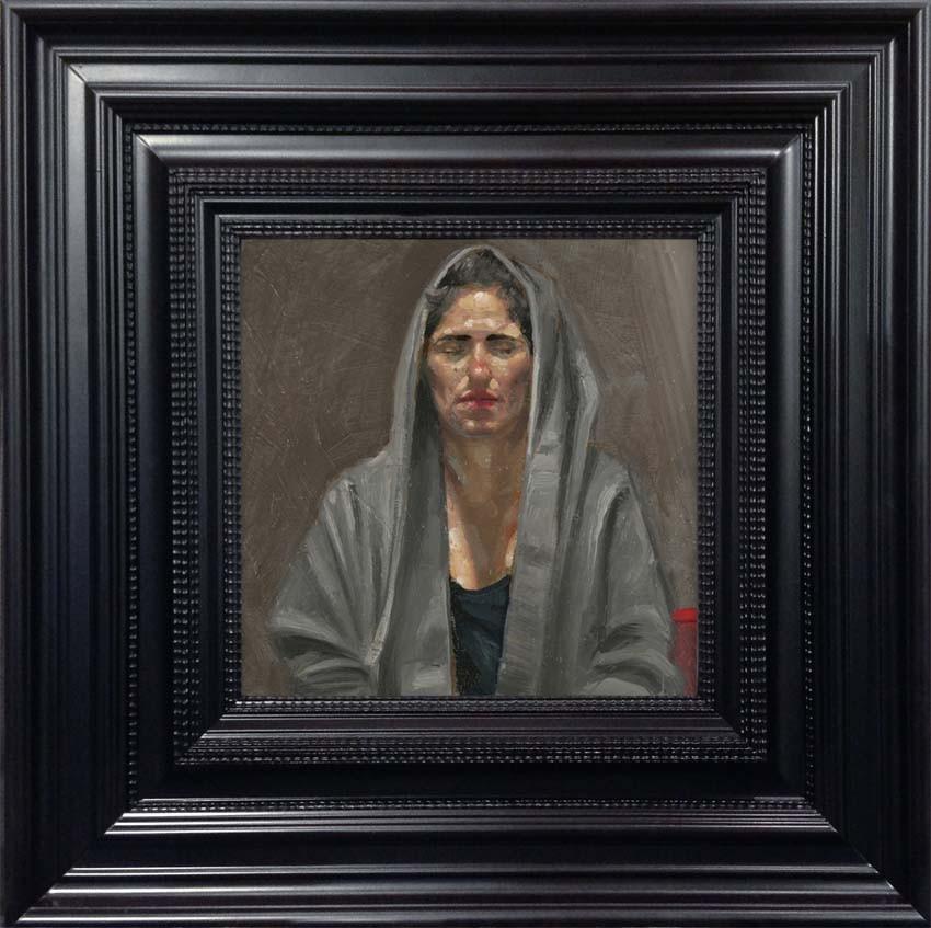 Femme à la Cpauche Grise 2014