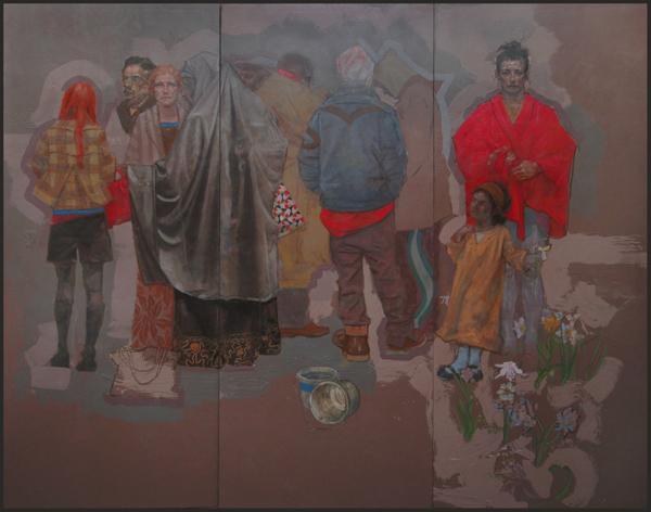 Arrangement of Figures in Grey 2007