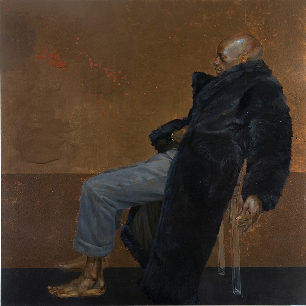 Carlos Sitting on a Clear Plastic Chair 2001