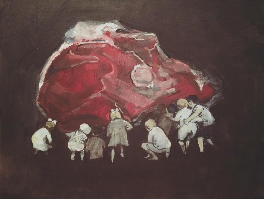 Dongni Hou Cruauté Subconsciente 2016
