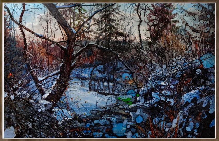 H Craig HANNA Snow Landscape 2016