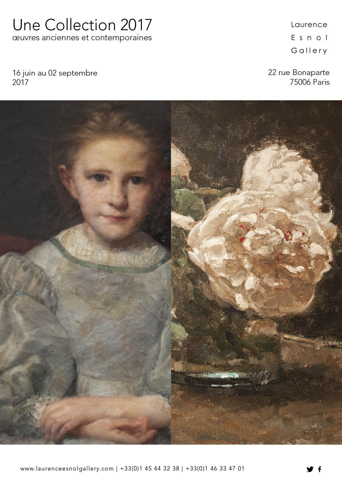 Une Collection 2017oeuvres anciennes et contemporaines