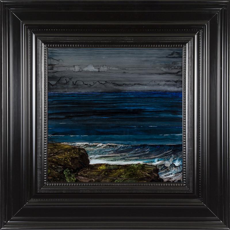H Craig HANNA Wave and Rocks 2017