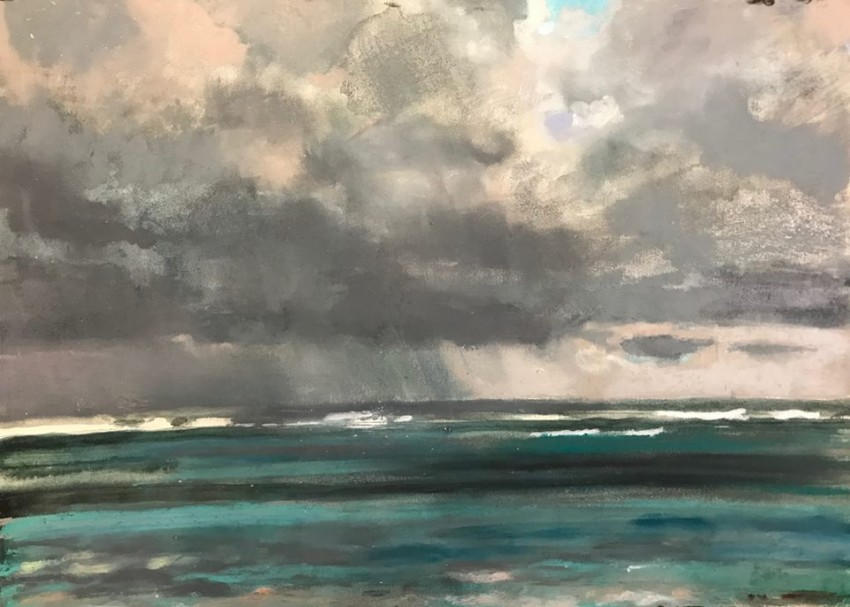 H Craig HANNA Sea view in Grey 2017