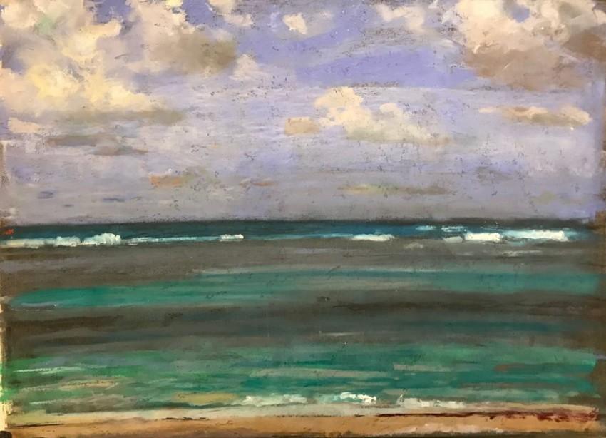 H Craig HANNA Sea view in light 2017